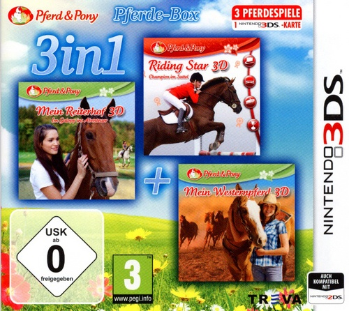3in1: Das Pferde-Bundle