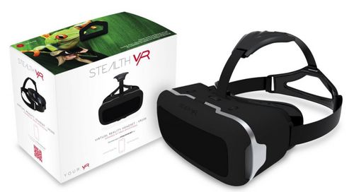 STEALTH VR200 Premium Virtual Reality Headset - black [iPhone/Android]