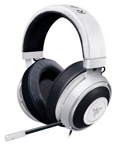 Razer Kraken Pro V2 Oval Headset - white