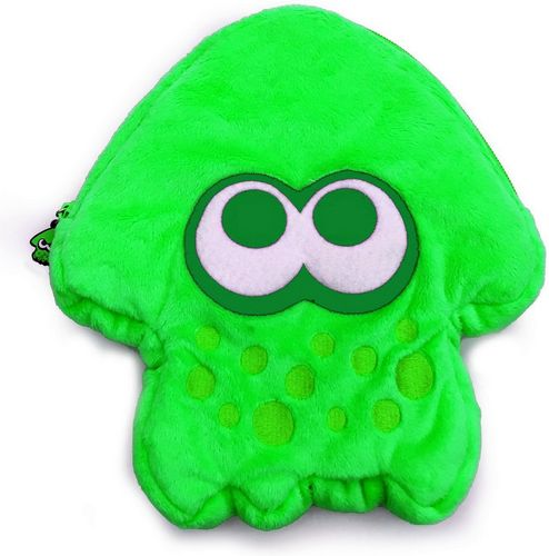 Nintendo Switch - Plush Pouch - Splatoon 2 - green [NSW]