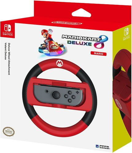 Nintendo Switch - Deluxe Wheel Attachment - Mario [NSW]