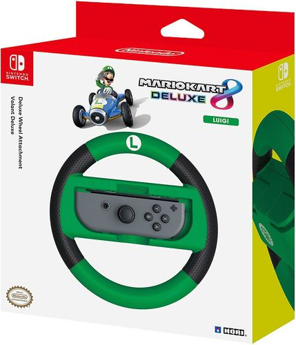Nintendo Switch - Deluxe Wheel Attachment - Luigi [NSW]