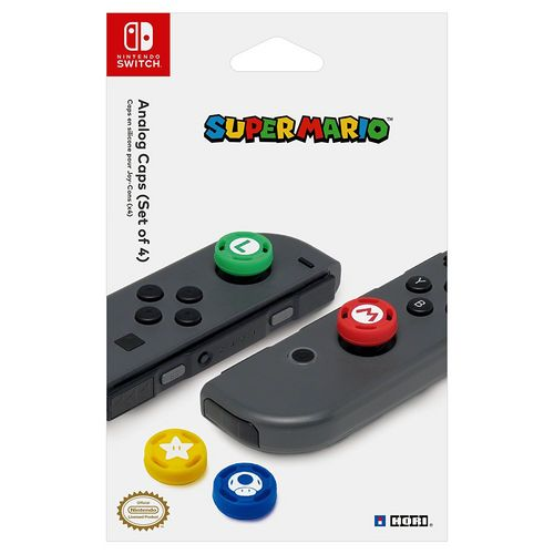 Nintendo Switch - Analog Caps - Super Mario [NSW]