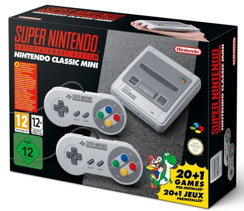 Super Nintendo Entertainment System - Classic Mini Console [SNES]