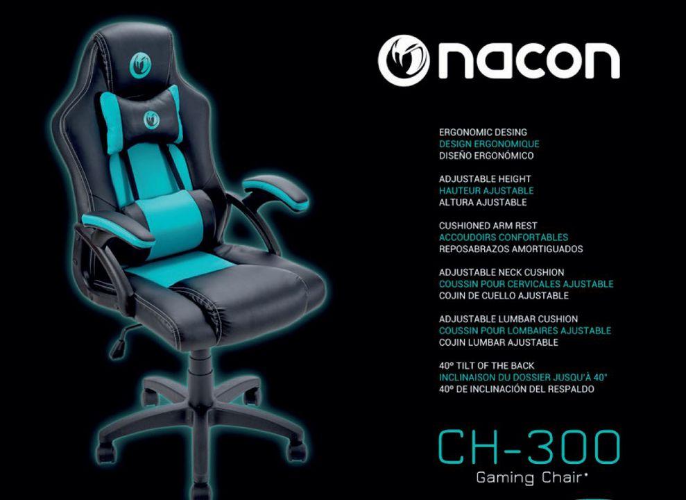 Nacon Gaming Chair Ch 300 Sonstige Games Exlibris Ch