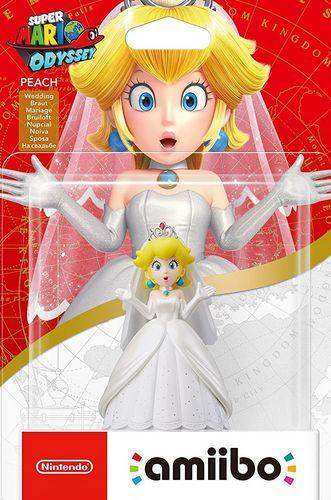 amiibo Super Mario Odyssey Character - Peach
