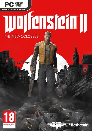 Wolfenstein II: The New Colossus [DVD]