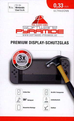 Premium Display-Schutzglas für Nintendo Switch [0.33mm]