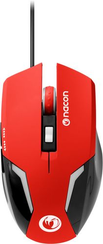 GM-105 Optical Gaming Mouse 2400 DPI - red
