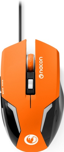 GM-105 Optical Gaming Mouse 2400 DPI - orange