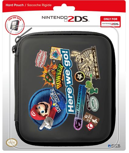 Hard Pouch - Mario [2DS]