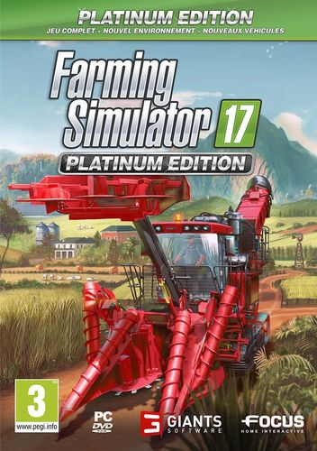 Farming Simulator 2017 - Platinum Edition [DVD]