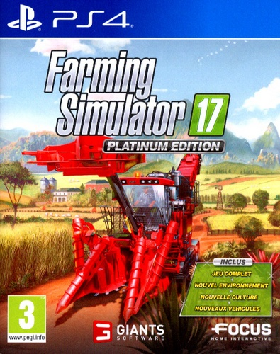 Farming Simulator 2017 - Platinum Edition [PS4]