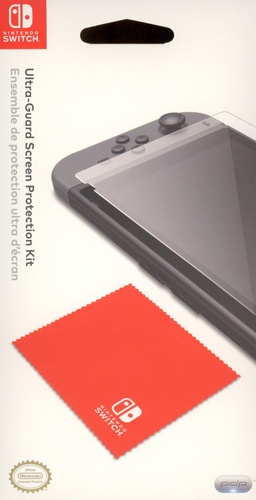 Nintendo Switch Ultra-Guard Screen Protection Kit [NSW]