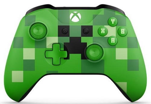 Wireless Controller Minecraft Creeper SE XONE Postshopch - Minecraft creeper spiele