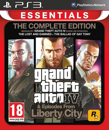 Essentials: GTA IV - Complete Edition