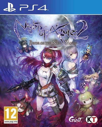Nights of Azure 2: Bride of The New Moon [PS4] (E/i)