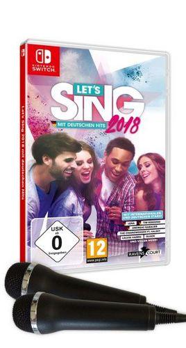 Let's Sing 2018 mit Deutschen Hits + 2 Mics [NSW]