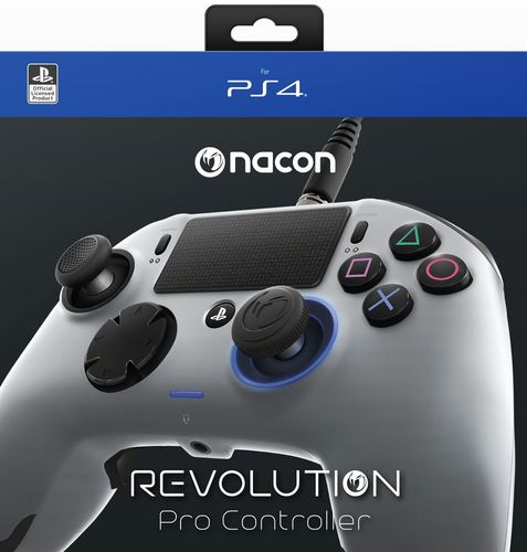 Revolution Pro Gaming Controller - silver matt [PS4]