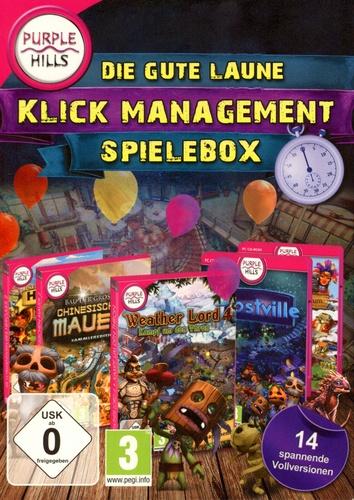 Purple Hills: Die gute Laune Klick Management Spielbox [DVD]