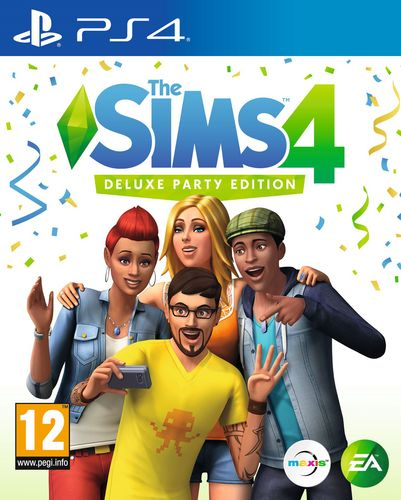 The Sims 4 - Deluxe Party Edition [PS4]