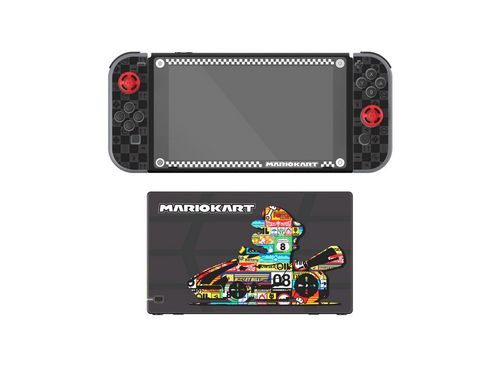 Nintendo Switch Play & Protect Skin - Mario Kart [NSW]