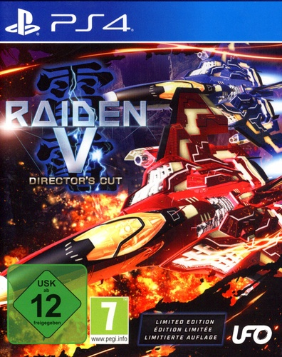 Raiden V: Director's Cut - Limited Edition [PS4] (E/d)