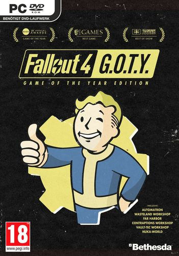 Fallout 4 - GOTY Edition [DVD]