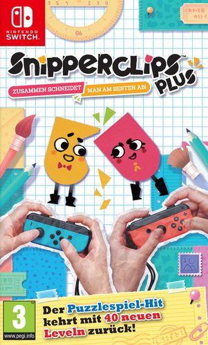 Snipperclips Plus - Zusammen schneidet man am besten ab! [NSW]