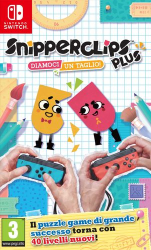 Snipperclips Plus - Diamoci un taglio! [NSW]
