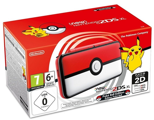 New 2DS XL Console - Pokéball Edition [New 2DS XL]