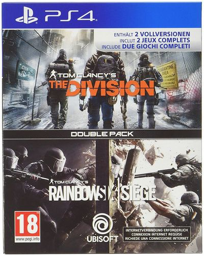 Rainbow Six Siege & The Division - Double Pack [PS4]