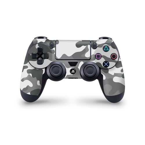 Skin Controller PS4 - Camouflage Grey - 3M [PS4]
