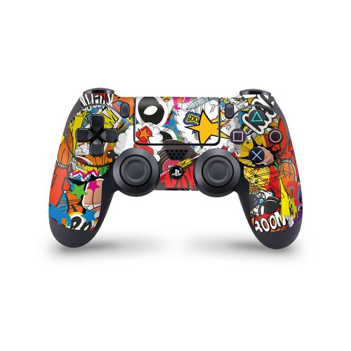 Skin Controller PS4 - Stickerbomb Color - 3M [PS4]