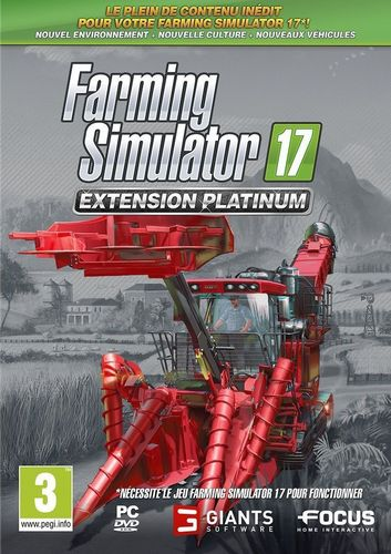 Farming Simulator 2017 - Extension Platinum [DVD]