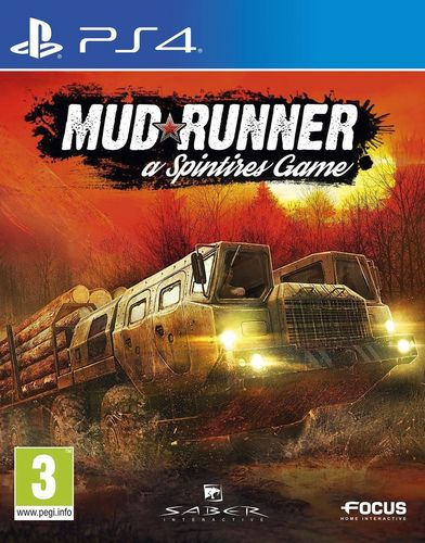 Spintires: MudRunner [PS4] (E/d)