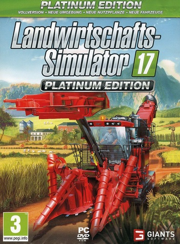 Landwirtschafts-Simulator 17 - Platinum Edition [DVD]
