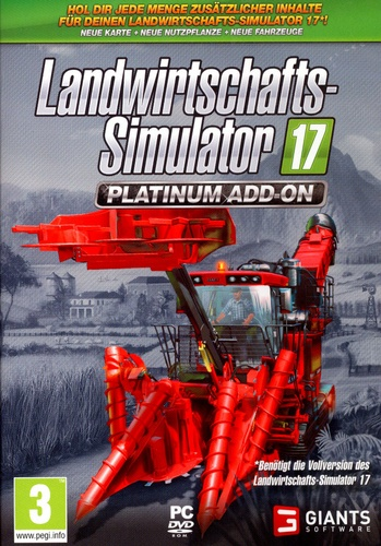 Landwirtschafts-Simulator 17 - Platinum Edition Add-On [DVD]