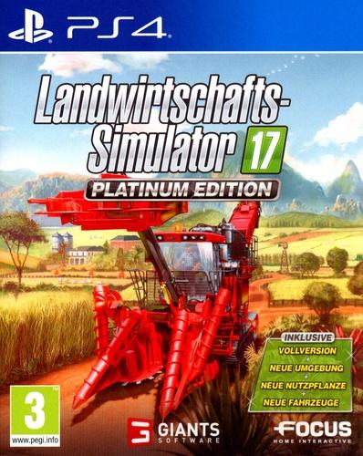 Landwirtschafts-Simulator 17 - Platinum Edition [PS4]