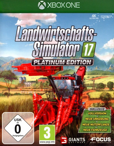 Landwirtschafts-Simulator 17 - Platinum Edition [XONE]