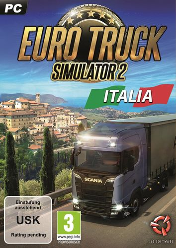 Euro Truck Simulator 2 - Italia [DVD]
