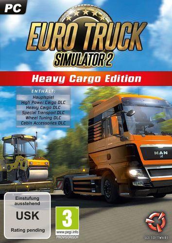 Euro Truck Simulator 2 - Heavy Cargo Edition [DVD]