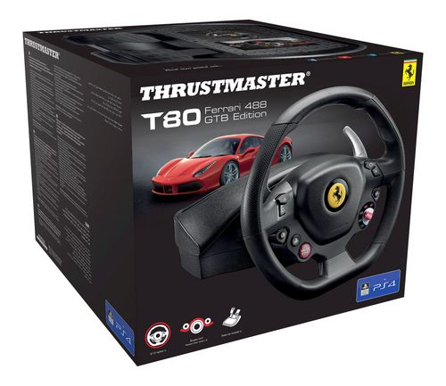 T80 Ferrari 488 GTB Racing Wheel