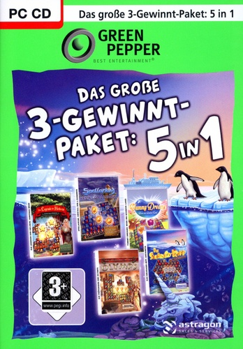 Green Pepper: Das grosse 3-Gewinn-Paket 5in1