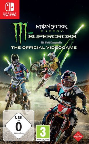 Monster Energy Supercross - The official Videogame [NSW]