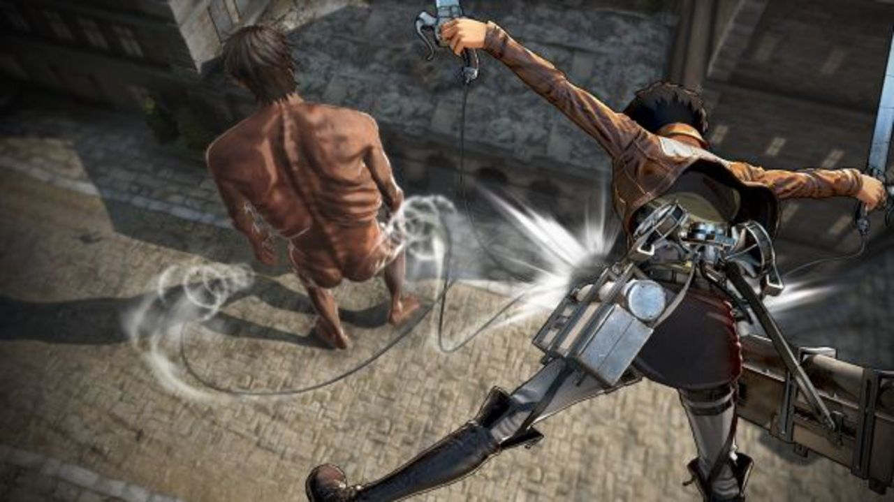 AoT 2 (based on Attack on Titan) [NSW] (D)