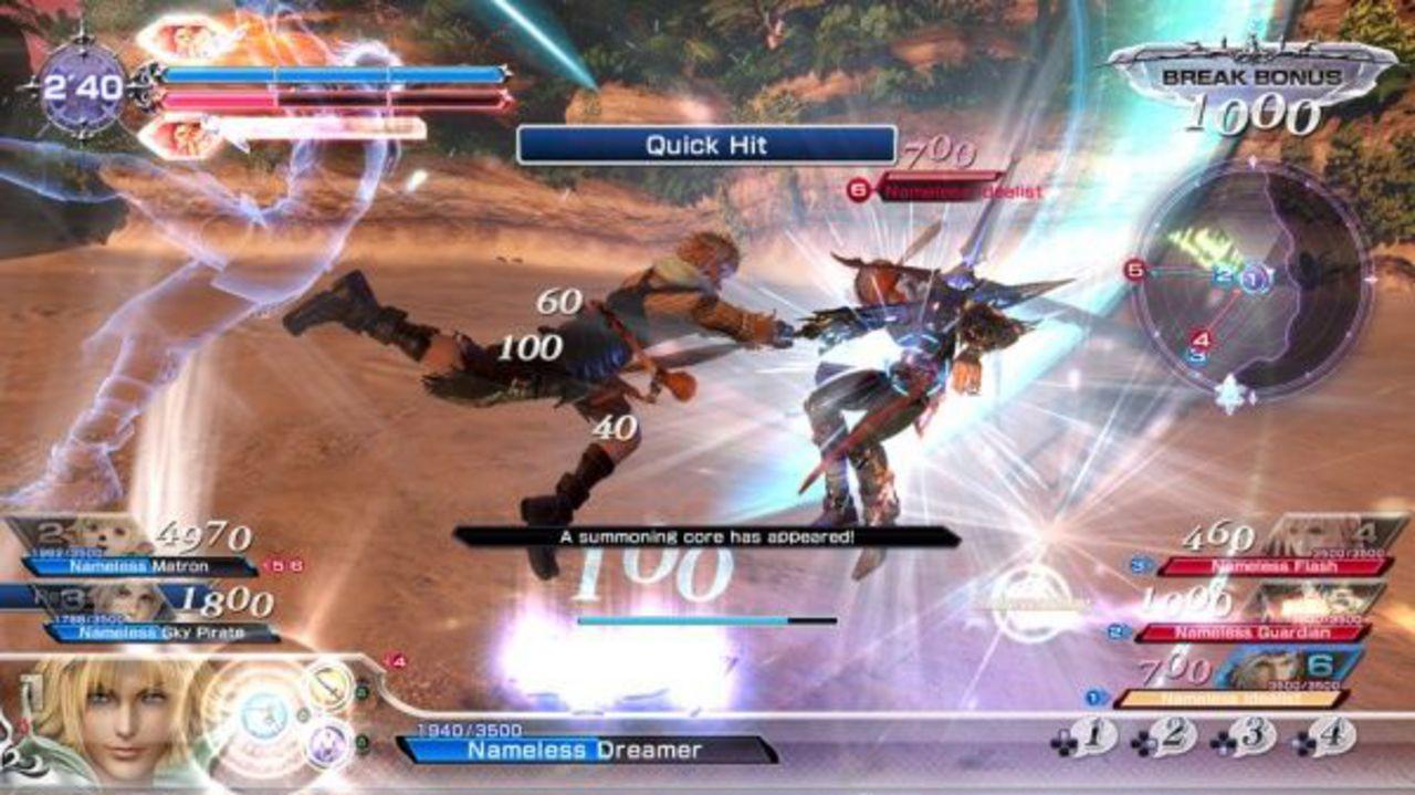 Dissidia Final Fantasy NT [PS4] (D)