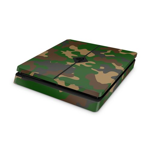 Skin SLIM - Camouflage Green - 3M [PS4]