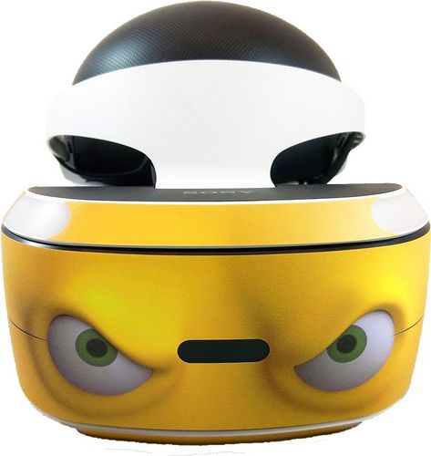 Skin VR - Comic Yellow - 3M [PS4]