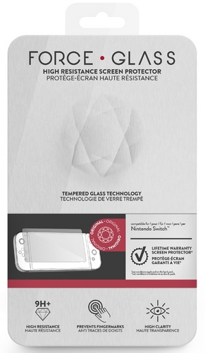 Nintendo Switch Force Glass - Screen Protector Glass 9H+ [NSW]